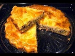 Мясной пирог — легче не бывает
