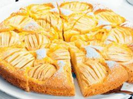 Пирог на кефире. Худеющим сладкоежкам посвящается!