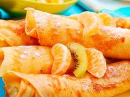 Полезные овсяные блинчики с апельсином без муки