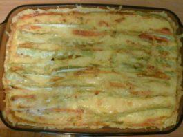 Запеченные овощи в тесте