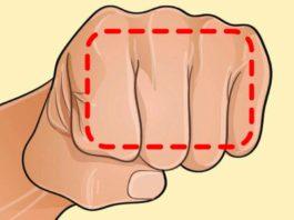 Если вы не можете похудеть, помогите себе кулаком! Это кажется невероятным, но этот трюк действительно работает!