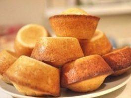 Творожные кексы с цукатами, изюмом и орехами