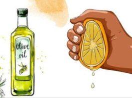 Выжмите целый лимон, смешайте с 1 столовой ложкой оливкового масла, и вы запомните меня до конца вашей жизни