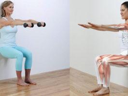 Вот как можно получить стройные ноги, плоский живот и избавиться от болей в коленях, лишнего веса всего за 5 минут