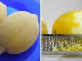 Замораживайте лимоны и забудьте о проблемах с диабетом, опухолями и ожирением