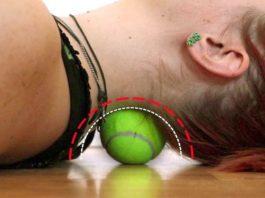 По эффекту заменяет курс дорогого массажа. Быстро убрать боль в спине (за 6 минут!) помогает круглый, самый обычный