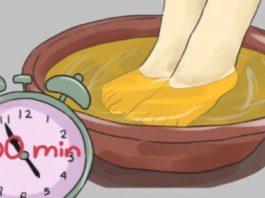 Замачивайте ноги в уксусе один раз в неделю — и увидите, как исчезают все ваши болезни